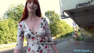 Outside Agent Dirty Sexy American Red Head Beauty Alex Harper